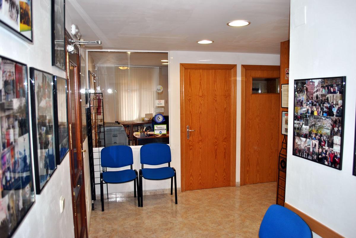 Foto de les instal·lacions: recepció de l'Acadèmia Sarroca de Móra d'Ebre